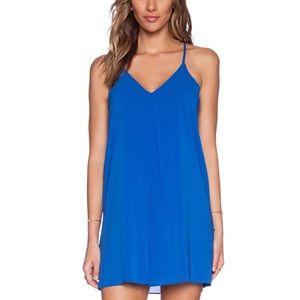 Alice & Olivia Fierra - Cobalt Slip Dress